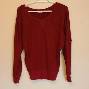SALE- 💜3/$15 - Ardene - red long sleeve top